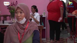 Volunteer Asma Nuha Kamaruddin