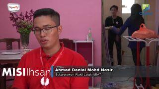Volunteer Ahmad Danial Mohd Nasir