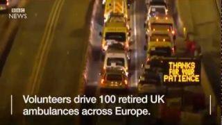 BBC NEWS - Alhamdulillah kini ambulans yang dihantar ke Syria oleh NGO dari Malaysia