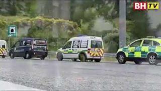 BH TV - TERKINI Konvoi Ambulans Sedia Berlepas dari UK